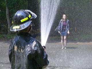 Woodstock Firemen provide extra rain