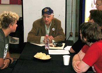 Haskell Wexler at Career Day