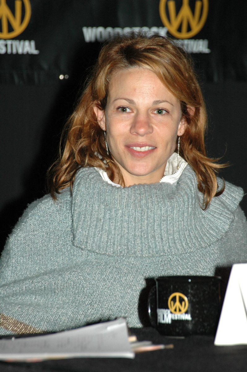 Lili Taylor participated in the actor's dialogue at the 2004 Woodstock Film ...