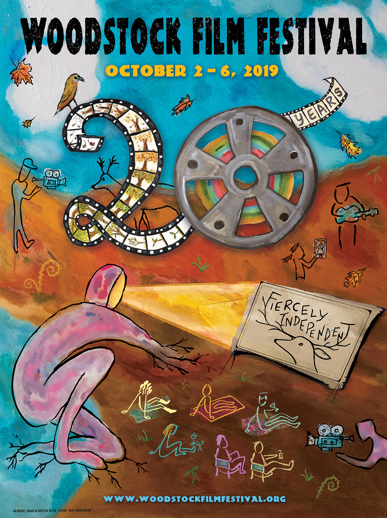 2019 Woodstock Poster