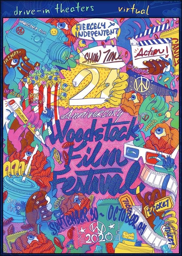 2020 Woodstock Poster